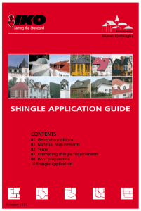 IKO Shingle Application Guide 2006