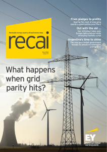 EY Renewable energy country attractiveness index Issue 47 May