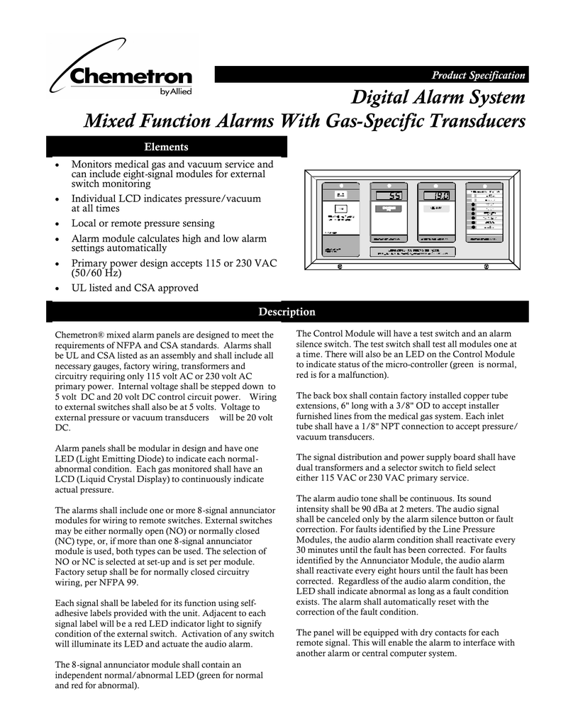 Groovy Digital Alarm System Mixed Function Alarms With Gas Wiring Digital Resources Inamasemecshebarightsorg