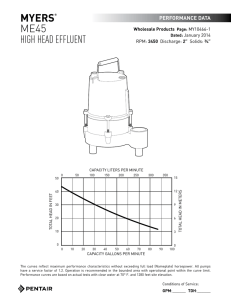 MYERS® ME45 HIGH HEAD EFFLUENT