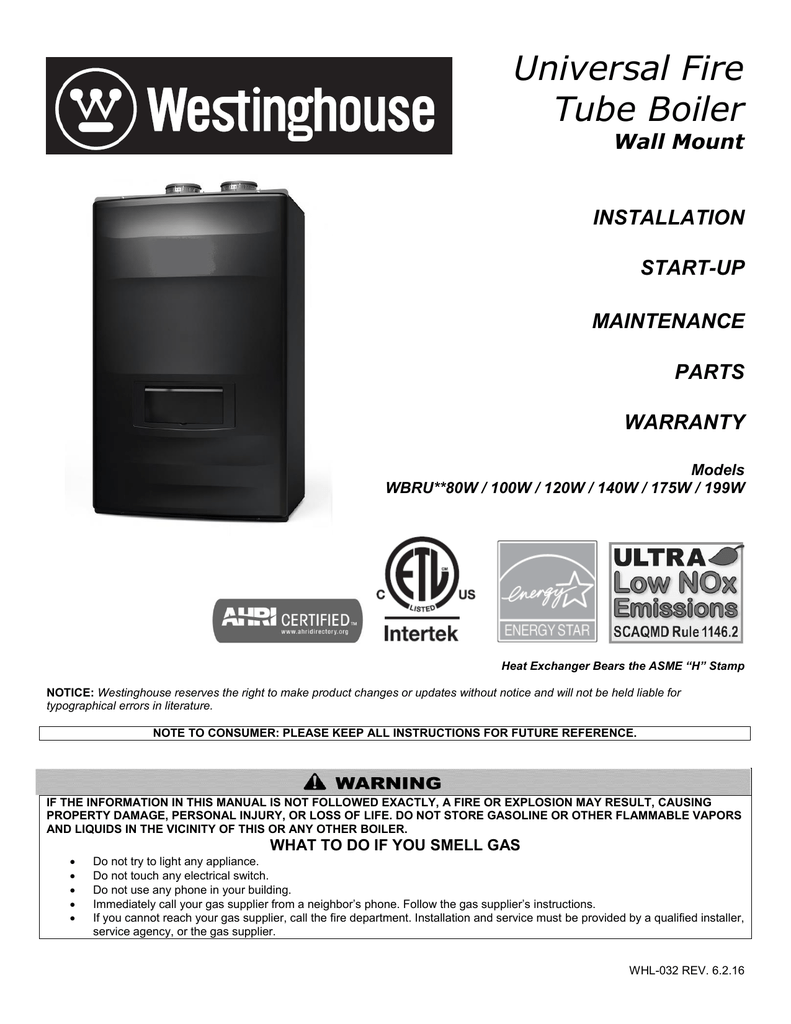 Installation Manual Westinghouse Water Heating Hd 4560 Wiring Harness Conversion