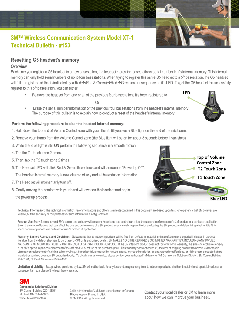 3M™ Wireless Communication System Model XT