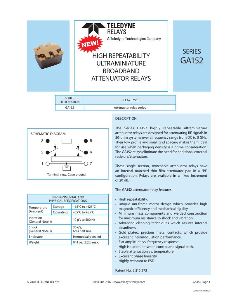 Ga152 Electrical Relay Quiz