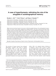 A case of hyperthymesia