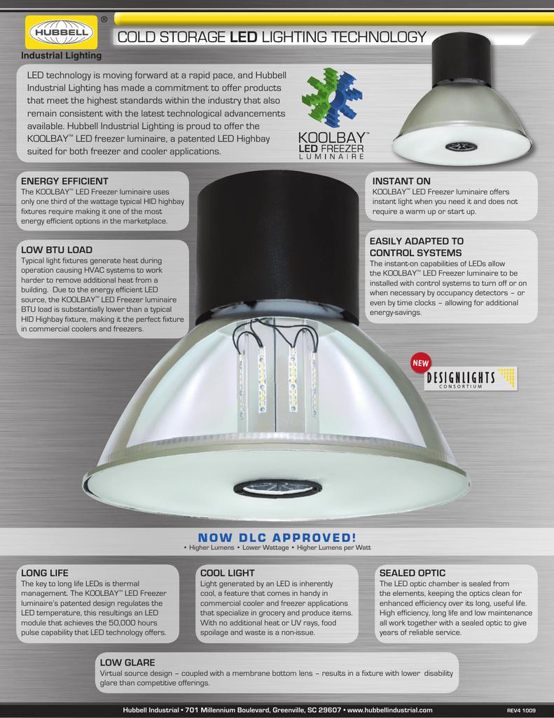 Cold Storage Led Lighting Technology