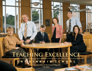 Teaching Excellence - The Kinkaid School