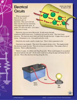 Physical Science Leveled Text Electrical Circuits