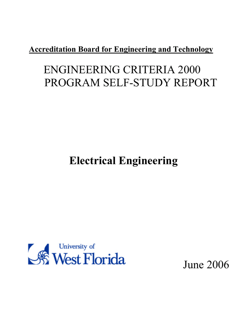 Electrical Engineering - University of West Florida