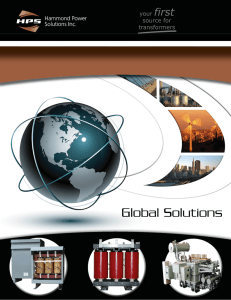 HPS Global Solutions Brochure HPS Global Solutions document is
