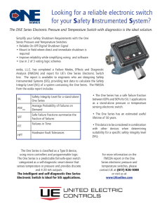 Looking for a reliable electronic switch for your Safety Instrumented
