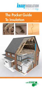 The Pocket Guide To Insulation
