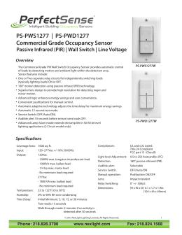 Schneider electric occupancy sensor range sciox Gallery