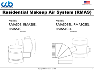 Residential Makeup Air System (RMAS) - Modern-Aire