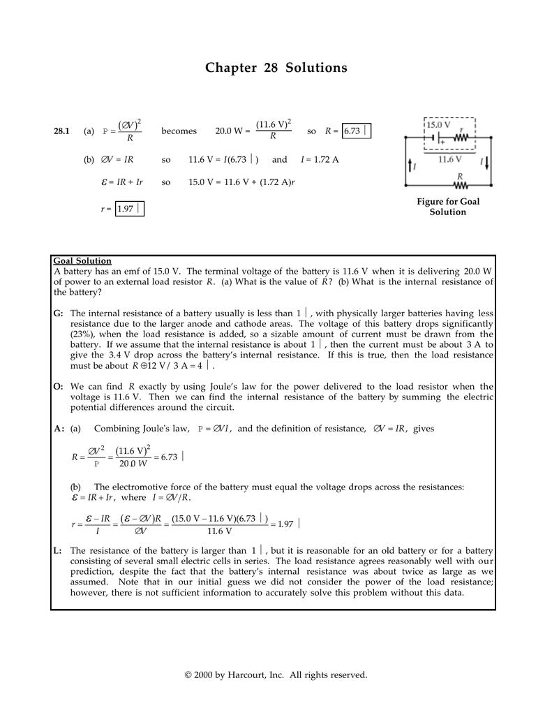 chapter 28 solutions rh studylib net