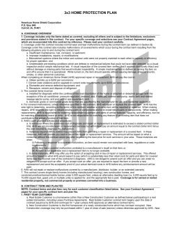 pdf of contract mw.qxp - First American Home Warranty