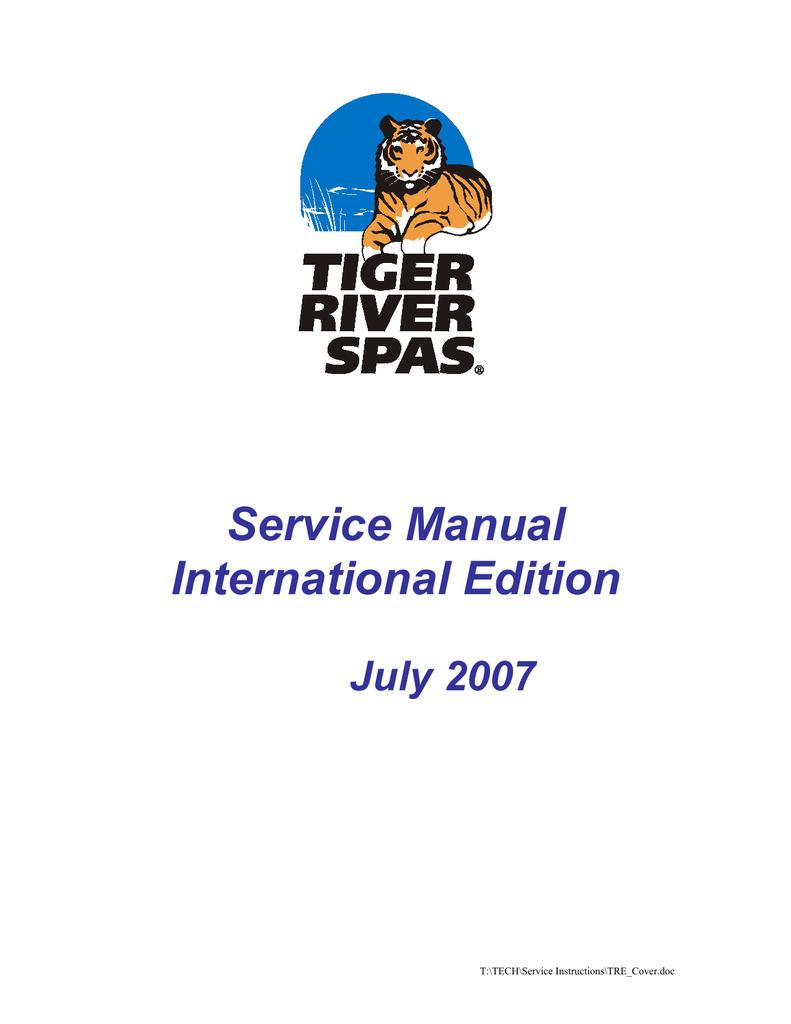 service manual international edition