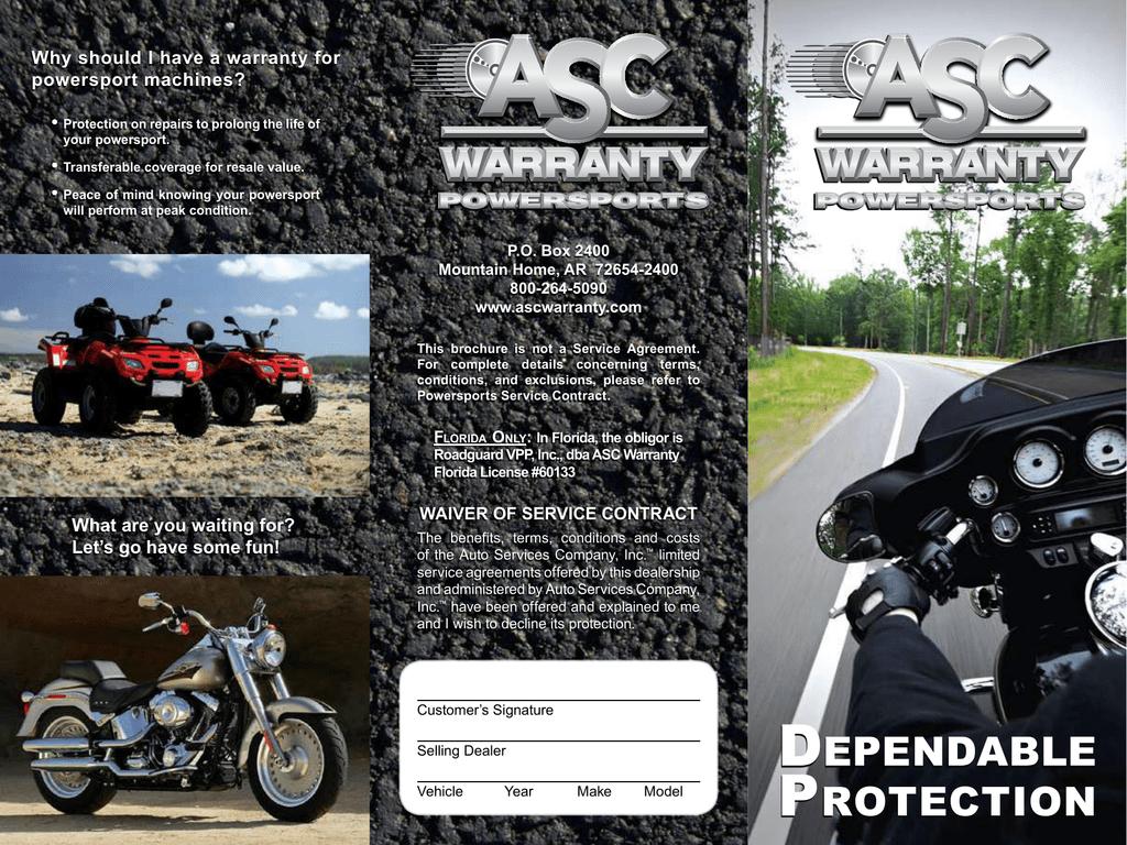 Asc Warranty Classic Iron