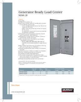 contents siemens generator ready load center