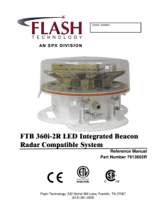 FTB 360i-2R LED Integrated Beacon Radar Compatible System