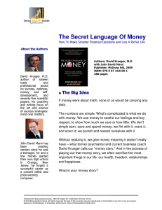 The Secret Language Of Money