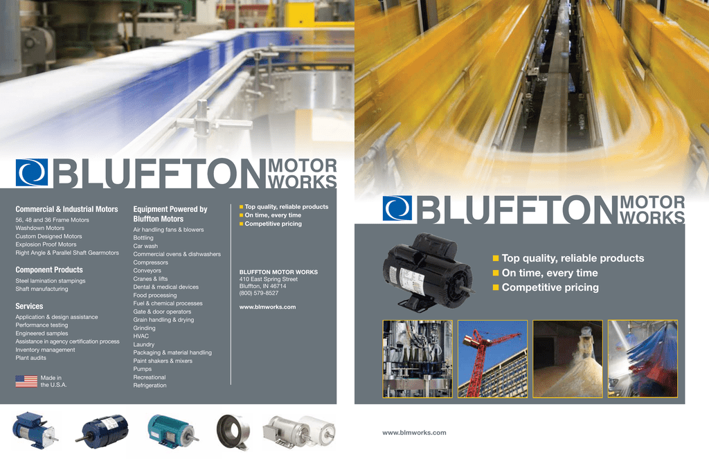 Bluffton Motor Works - impremedia.net