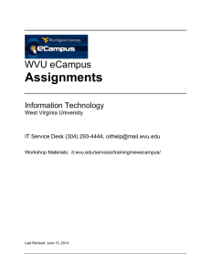 Assignments - Information Technology Services