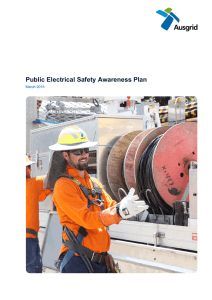 Public Electrical Safety Awareness Plan
