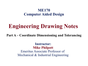 Engineering Drawing Notes - Part A