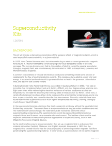 Superconductivity Kits