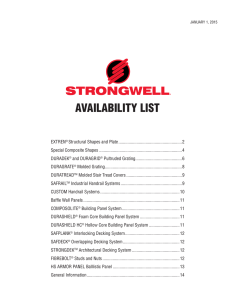 AVAILABILITY LIST