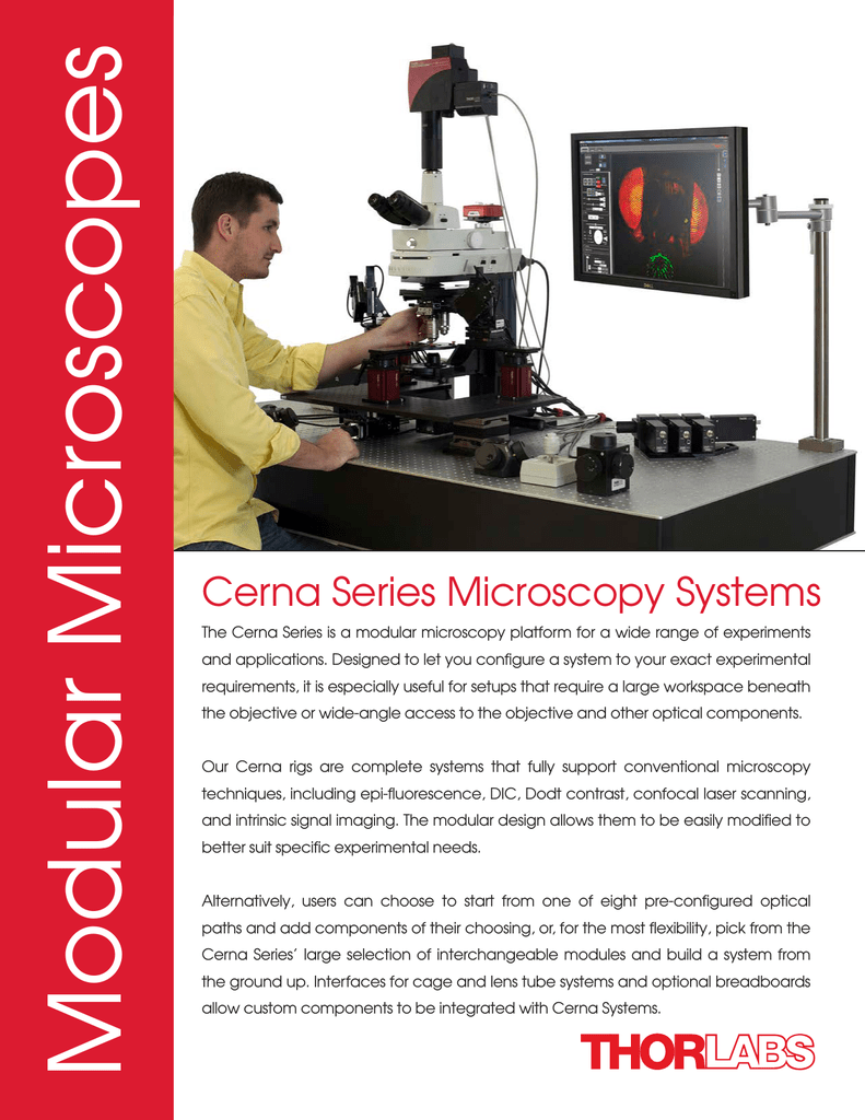 Cerna Microscopes Brochure