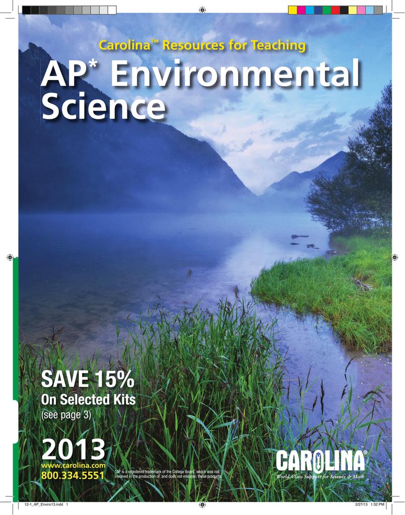 AP* Environmental Science - Lennox Laboratory Supplies