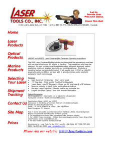 Please visit our website! WWW.lasertoolsco.com