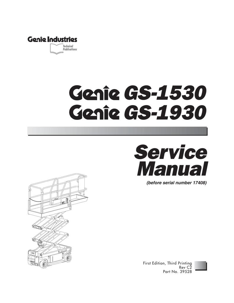 GS-1930 GS-1530 Service ManualStudylib