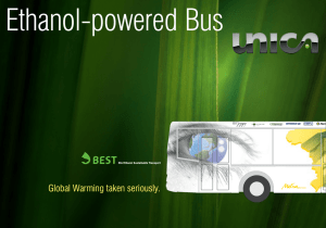 Ethanol-powered Bus - SugarCane.org Home