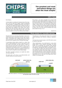 Chips Newsletter ©ESPROS Photonics Corp.