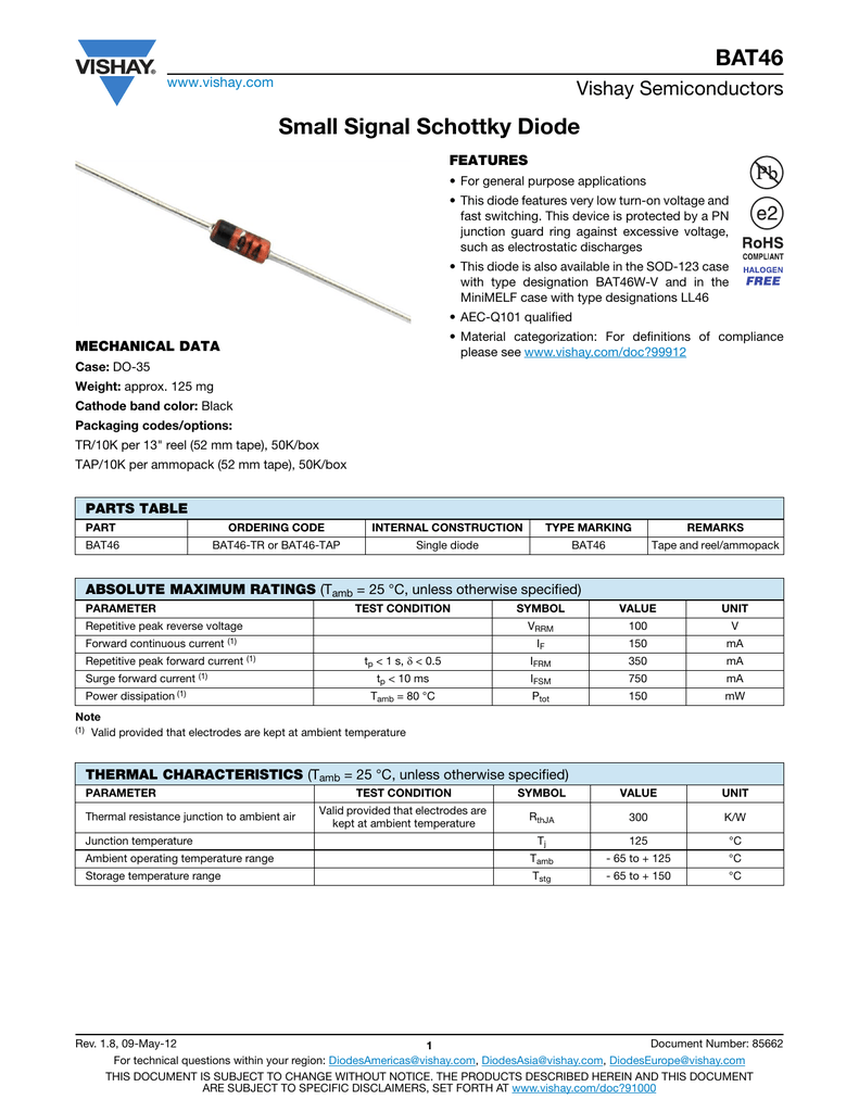 The designation of the diodes. Types, marking and assignment of diodes 51