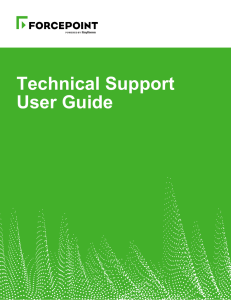 Technical Support User Guide