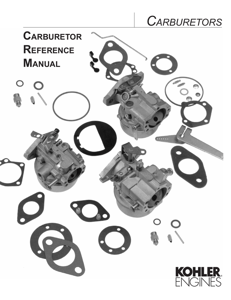 Carburetors Henrik A Fog S Kohler Ch15 5 Wiring Diagram