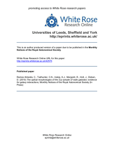 - White Rose Research Online
