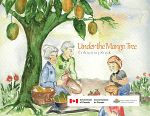 Under the Mango Tree Colouring Book Sample