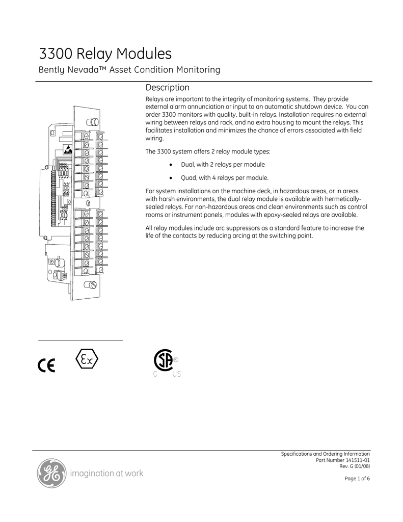 ge bently nevada 3300 relay modules datasheet pdf wiring nevada diagram bently siesmicmodule 42mproximitor bently nevada wiring diagram #14