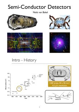 Semi-Conductor Detectors