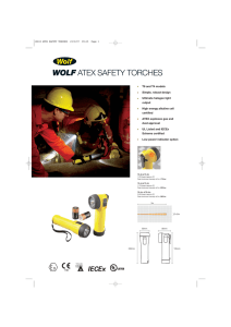 wolf atex safety torches