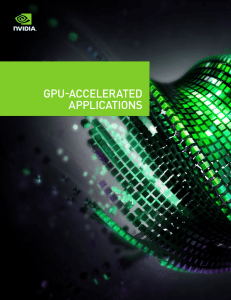 GPU-Accelerated Applications for HPC Industries| NVIDIA