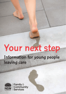 Your next step - Community Services
