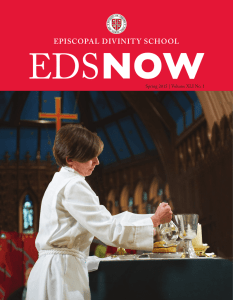 EDS Now Spring 2015 - Episcopal Divinity School