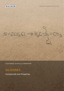 Silicones - Compunds and Properties