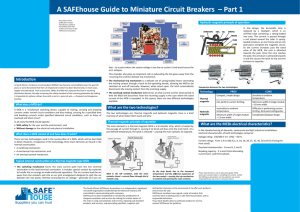 A SAFEhouse Guide to Miniature Circuit Breakers – Part 1