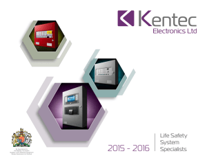 Kentec Brochure